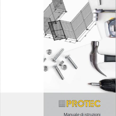 Nuevo manual de instrucciones para montaje de cerramiento de seguridad Protec